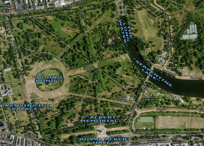 Kensington Gardens Plan